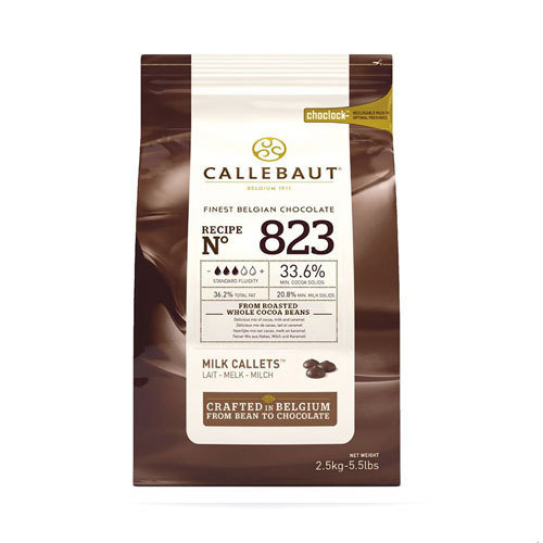 CABERT. FIN.BELGIAN CHOCOLATE-MILK N823 (B/2.5KG)