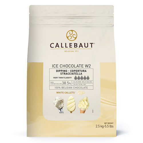 COBERT. ICE-CHOC BLANCO W2 (B/2,5KG)